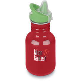 Klean Kanteen Kid Classic Drinkfles Sippy Cap 355ml rood